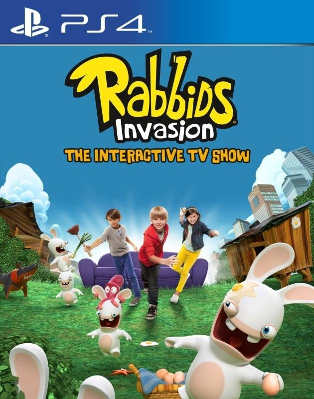 Rabbids Invasion: Interaktywny Program TV PL (PS4)